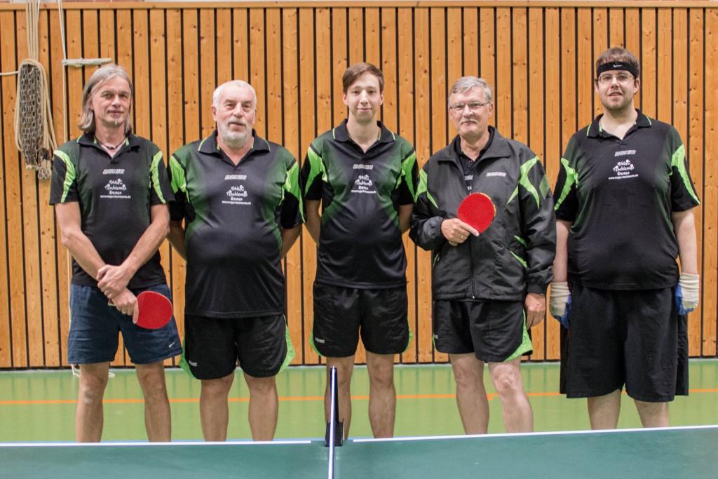 Vierte Herren des SV-Union-Meppen Tischtennis
