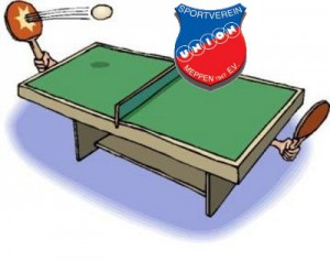 Tischtennis-Aushang-Union